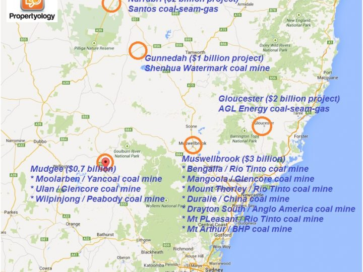 Major Projects, NSW Mining Industry