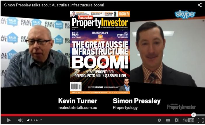 Infrastructure Boom – video interview with Kevin Turner of Real Estate Talk