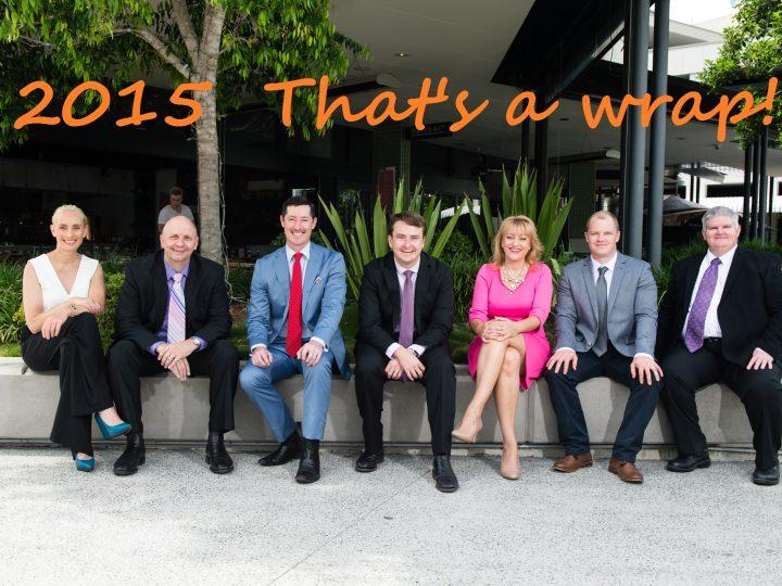 2015 That's A Wrap!
