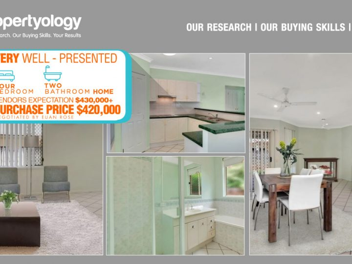 Our 'Science' Is The Foundation For Every Investment Property Choice
